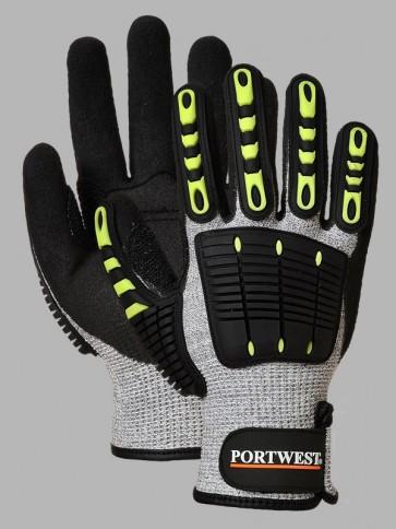 Portwest Anti Impact Cut Resistant 5 Nitrile Gloves