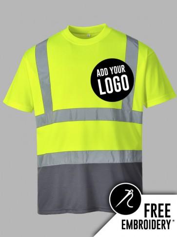 Portwest Hi-Vis Two Tone T-Shirt