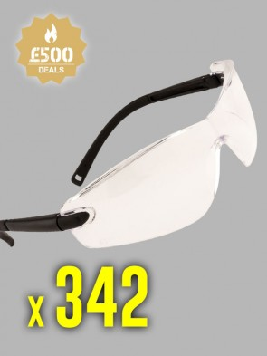 342 x Portwest Profile Safety Spectacles