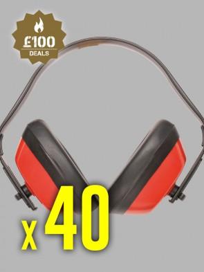 40 x Portwest Classic Ear Protectors