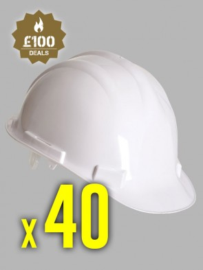 40 x Portwest Endurance Hard Hats