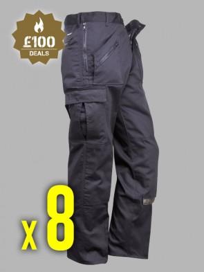 8 x Portwest Action Trousers