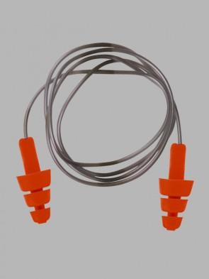 Portwest Reusable TPE Corded Ear Plugs - 50 Pairs