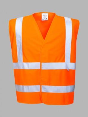 Portwest Bizflame Flame Resistant Hi-Vis GO/RT Vest