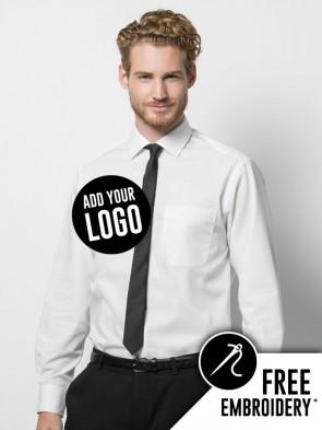 Kustom Kit Premium Non-Iron Corporate 100% Cotton Long Sleeve Shirt