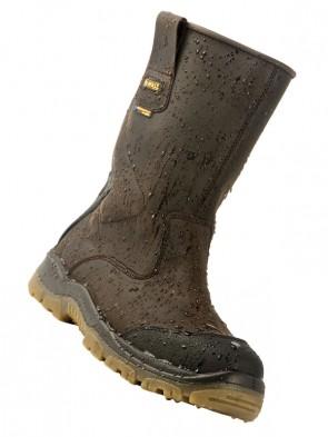 Dewalt Tungsten Waterproof Safety Rigger Boots S3 WR SRA