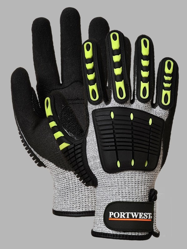 Nitrile size 11 XL Portwest A722 Anti Impact Cut Resistant 5 Glove