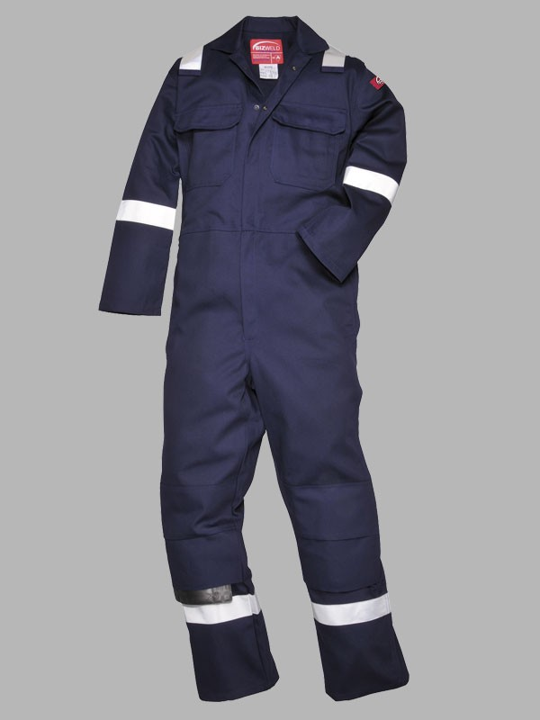 22332ef534fc Portwest Bizweld Flame Resistant Hi-Vis Iona Overall - Flame ...