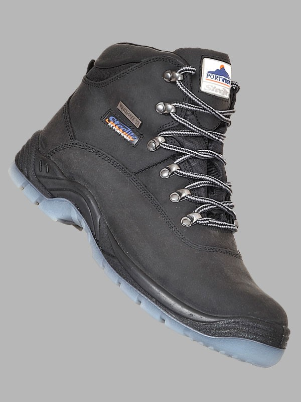 80cfe3910265b5 Portwest Steelite All Weather Waterproof Safety Boots S3 WR - Safety ...