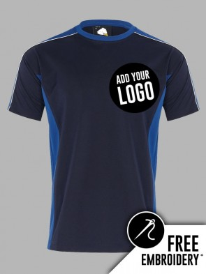 Orn Avocet 100% Polyester Contrast Wicking T-Shirt