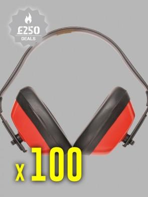 100 x Portwest Classic Ear Protectors