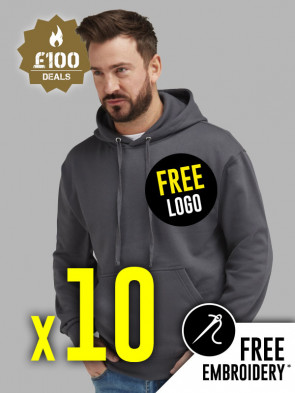10 x Ultimate 50/50 Hoodies