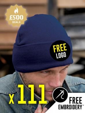 111 x Result Winter Essentials Woolly Ski Hats