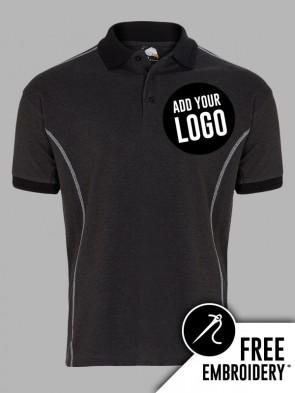 Orn Crane Contrast Polo Shirt