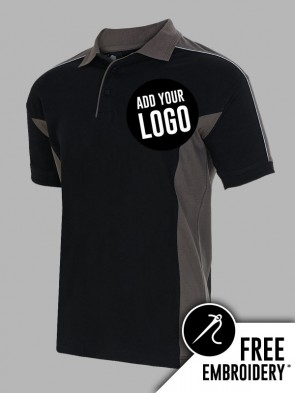Orn Avocet Contrast Polo Shirt
