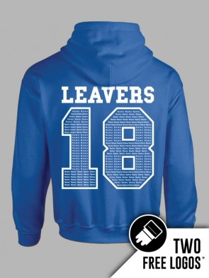 Gildan Heavy Blend Leavers Hoodie (Outlined)