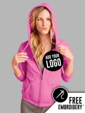 Gildan Ladies Heavy Blend Full Zip Hoodie