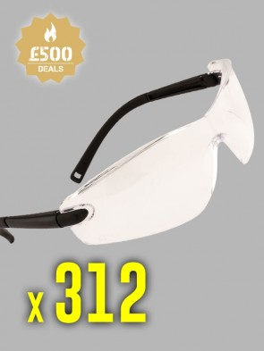 312 x Portwest Profile Safety Spectacles