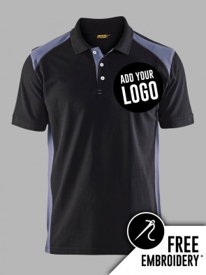 Blaklader Contrast Polo Shirt