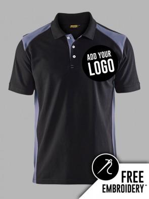 Blaklader Contrast Polo Shirt