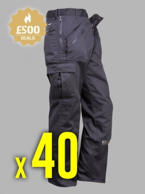40 x Portwest Action Trousers