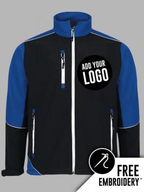 Orn Fireback Contrast Soft Shell Jacket