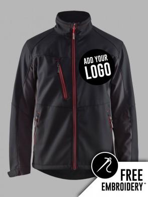 Blaklader Contrast Soft Shell Jacket