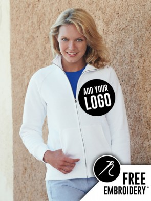 Fruit of the Loom Ladies Premium Full Zip Sweatshirt Jacket