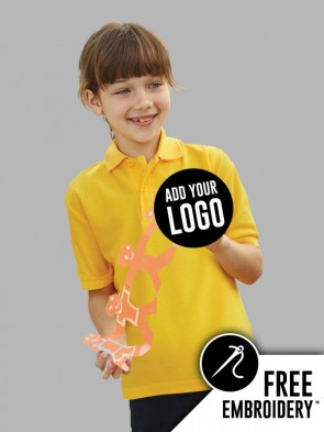 Fruit of the Loom Childrens Polo Shirt