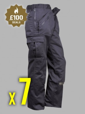 7 x Portwest Action Trousers