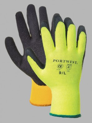 Portwest Thermal Grip Latex Gloves