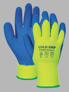 Portwest Latex Cold Grip Gloves