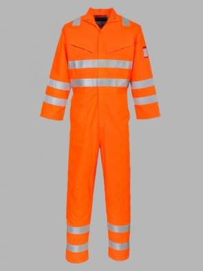 Portwest Araflame Hi-Vis GO/RT Flame Resistant Anti-Static Multi Overall