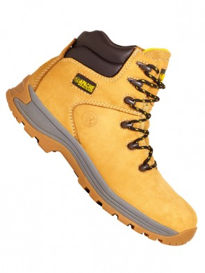 Apache Nubuck Water Resistant Safety Work Boots S3 SRA