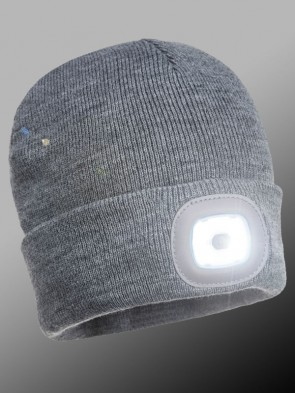 Portwest Rechargeable LED Head Light Ski Hat