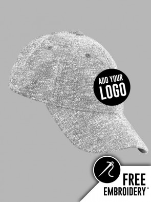 Beechfield Lux Knit Stretch-Fit 6 Panel Baseball Cap