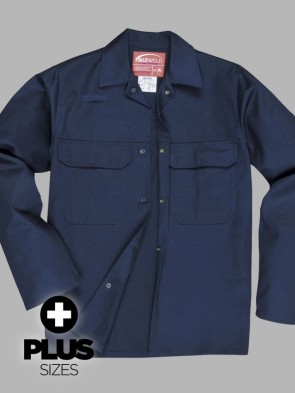 Portwest PLUS SIZE Bizweld Flame Resistant Jacket