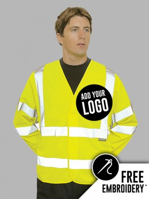 Portwest Hi-Vis Long Sleeve Vest