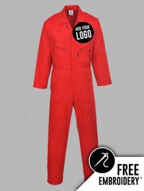 Portwest Liverpool Zip Front Overall