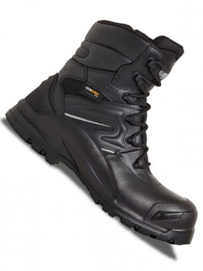 Apache Combat Waterproof Non-Metallic High Leg Safety Boots S3 WRA SRC