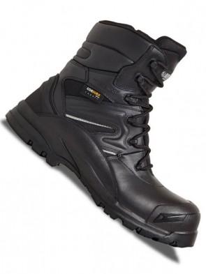 Apache Combat Waterproof Non-Metallic High Leg Safety Boots S3 WRA SRC