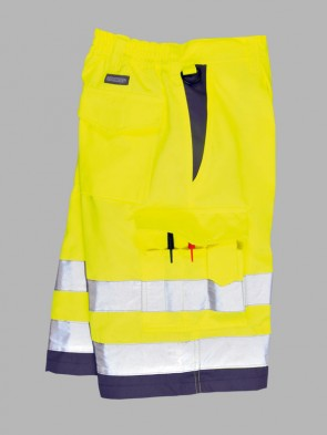 Portwest Hi-Viz Polycotton Shorts