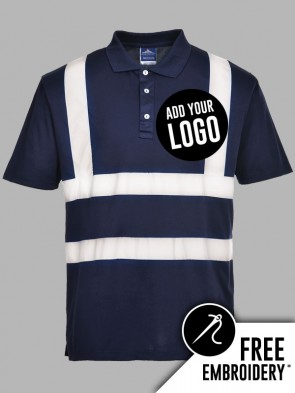 Portwest Iona Hi-Vis Polo Shirt