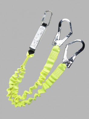 Portwest Double Elasticated Lanyard with Shock Absorber
