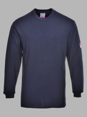 Portwest Modaflame Flame Resistant Anti-Static Long Sleeve T-Shirt