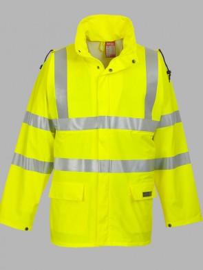 Portwest Sealtex Flame Resistant Hi-Vis Rain Jacket