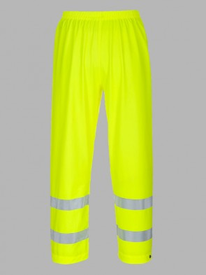 Portwest Sealtex Flame Resistant Hi-Vis Rain Trousers