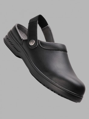 Portwest Steelite Water Resistant Microfibre Safety Clogs SB AE WRU