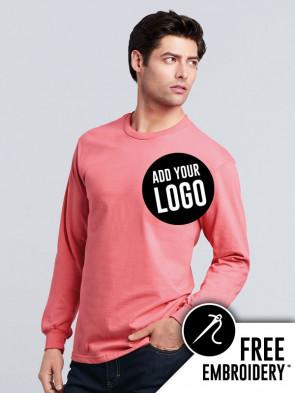 Gildan Hammer Long Sleeve 100% Cotton T-Shirt