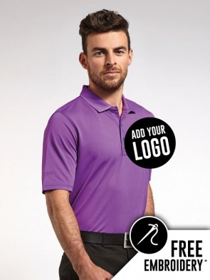 Glenmuir Deacon Performance 100% Polyester Pique Polo Shirt